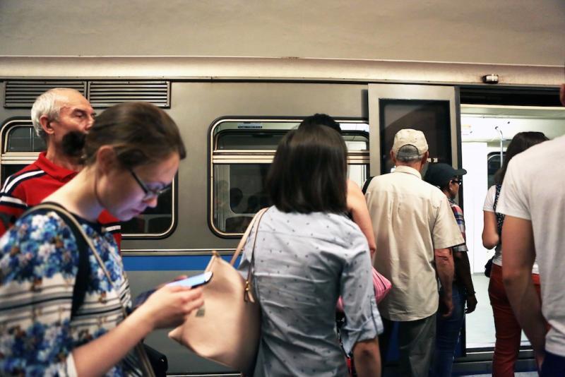 первую приложение метро с фото задача